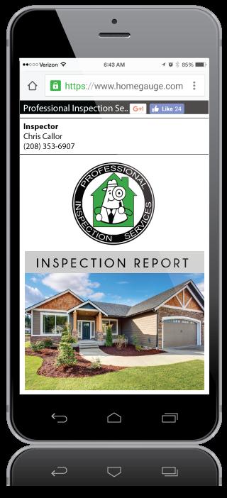 Homegauge Digital Home Inspection Report